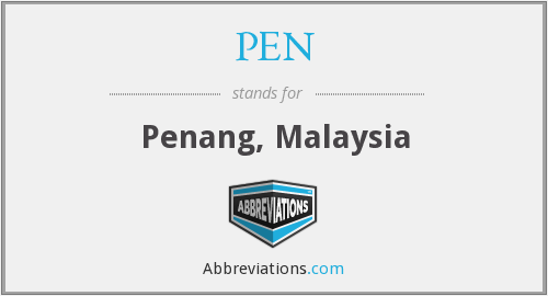 What does PEN stand for?