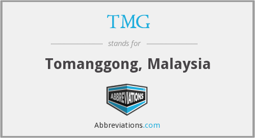 What does TMG stand for?
