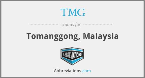 TMG - Tomanggong, Malaysia