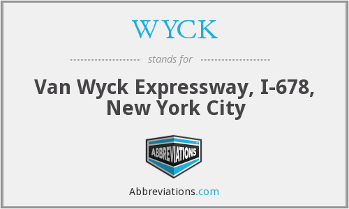 What does WYCK stand for?