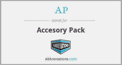 AP - Accesory Pack