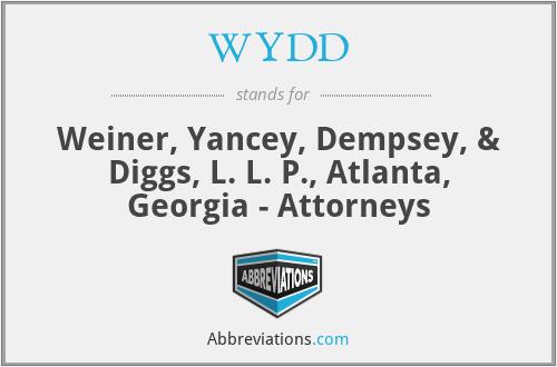 WYDD - Weiner, Yancey, Dempsey, & Diggs, L. L. P., Atlanta, Georgia - Attorneys