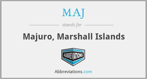 MAJ - Majuro, Marshall Islands