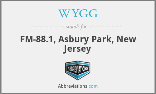 WYGG - FM-88.1, Asbury Park, New Jersey