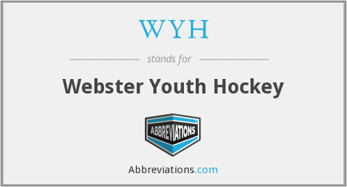 WYH - Webster Youth Hockey