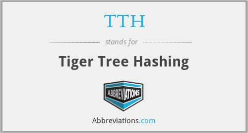 TTH - Tiger Tree Hashing
