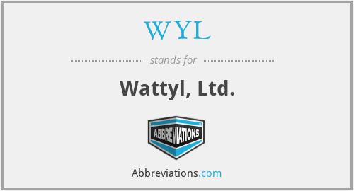 WYL - Wattyl, Ltd.