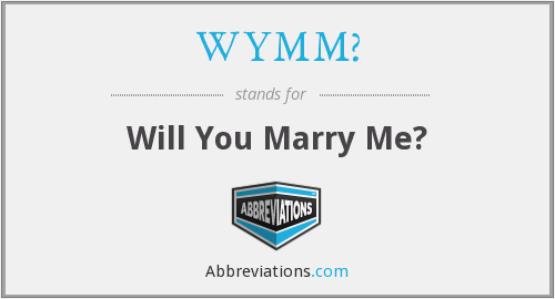 What does Marry stand for?