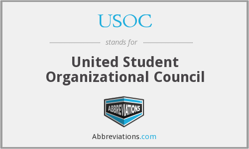 USOC - United Student Organizational Council