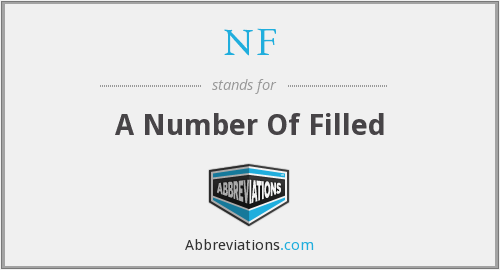 NF - A Number Of Filled