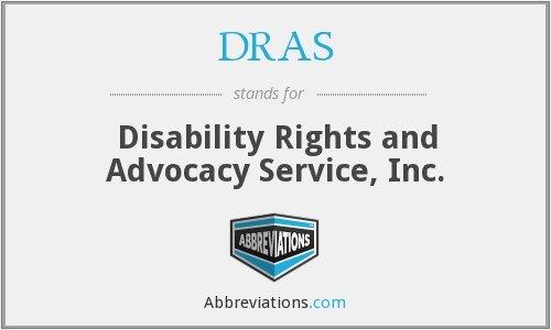 DRAS - Disability Rights and Advocacy Service, Inc.