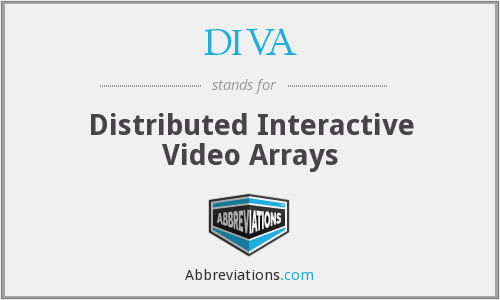 DIVA - Distributed Interactive Video Arrays