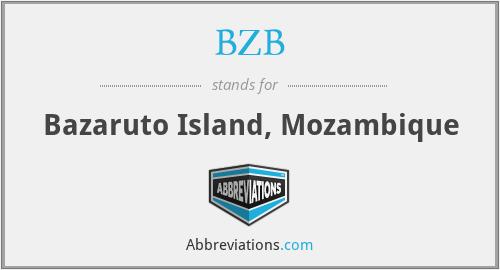 BZB - Bazaruto Island, Mozambique