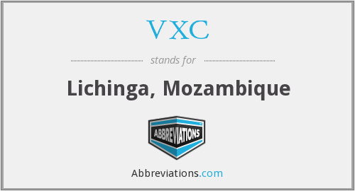 VXC - Lichinga, Mozambique
