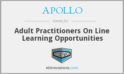 APOLLO - Adult Practitioners On Line Learning Opportunities