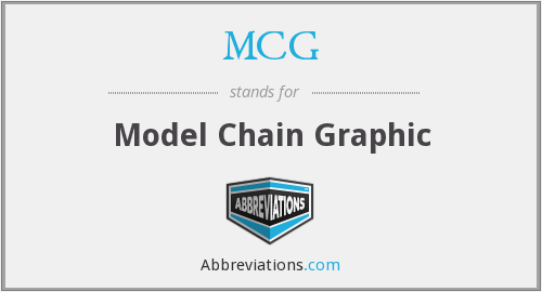 MCG - Model Chain Graphic
