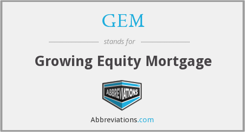 GEM - Growing Equity Mortgage