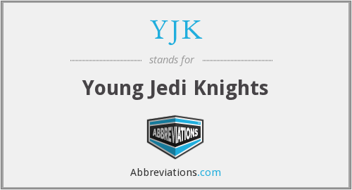 YJK - Young Jedi Knights