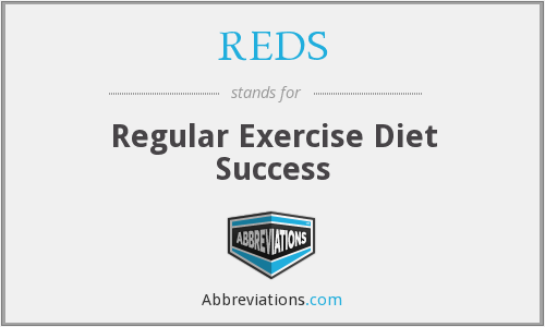REDS - Regular Exercise Diet Success