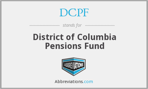 DCPF - District of Columbia Pensions Fund