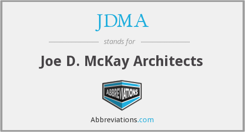 JDMA - Joe D. McKay Architects