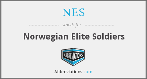 NES - Norwegian Elite Soldiers