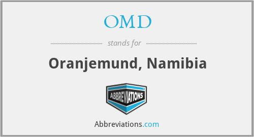 OMD - Oranjemund, Namibia