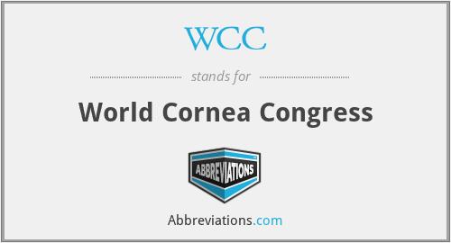 WCC - World Cornea Congress