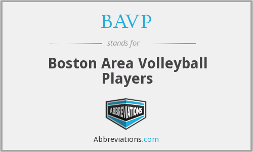 BAVP - Boston Area Volleyball Players