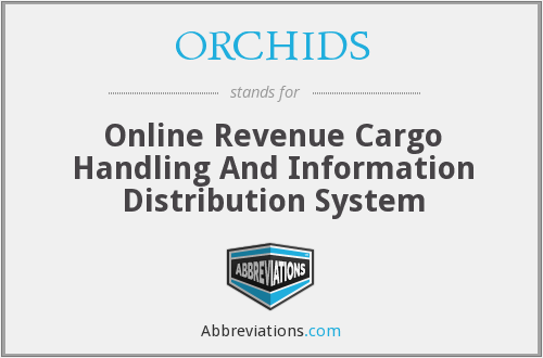ORCHIDS - Online Revenue Cargo Handling And Information Distribution System