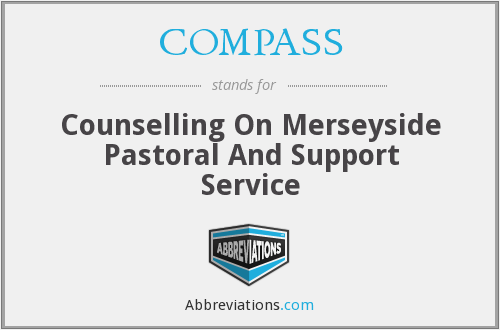 COMPASS - Counselling On Merseyside Pastoral And Support Service