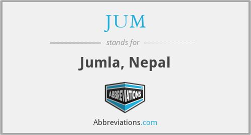 JUM - Jumla, Nepal