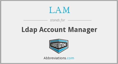 LAM - Ldap Account Manager