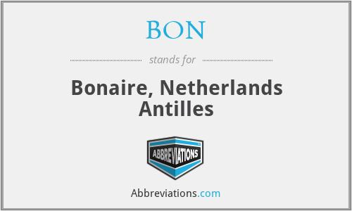 BON - Bonaire, Netherlands Antilles