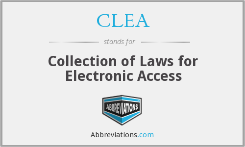 What does CLEA stand for?