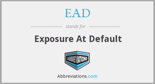 EAD - Exposure At Default