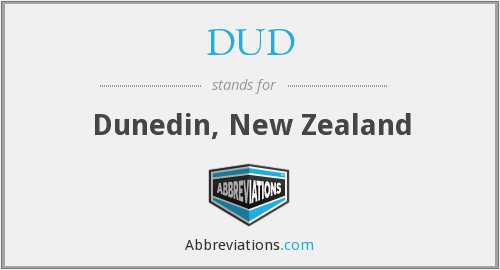 DUD - Dunedin, New Zealand