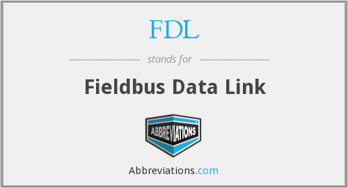 FDL - Fieldbus Data Link