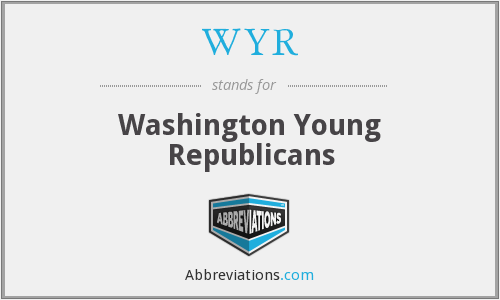 WYR - Washington Young Republicans