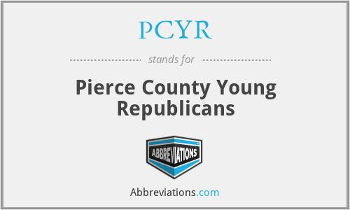 PCYR - Pierce County Young Republicans