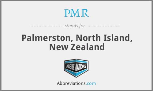 PMR - Palmerston, North Island, New Zealand