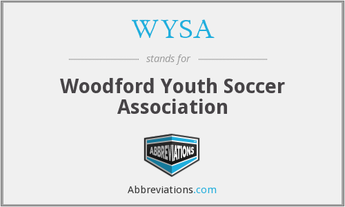 WYSA - Woodford Youth Soccer Association
