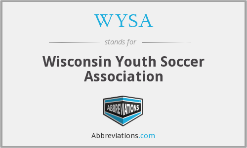 WYSA - Wisconsin Youth Soccer Association