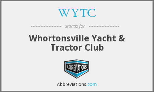 WYTC - Whortonsville Yacht & Tractor Club