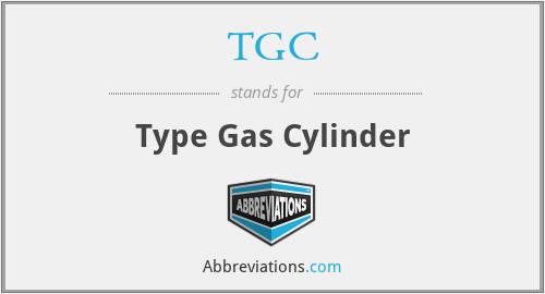 TGC - Type Gas Cylinder