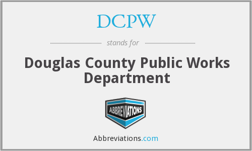 What does DCPW stand for?