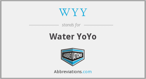 What does WYY stand for?