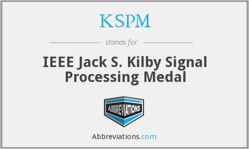 What does KSPM stand for?