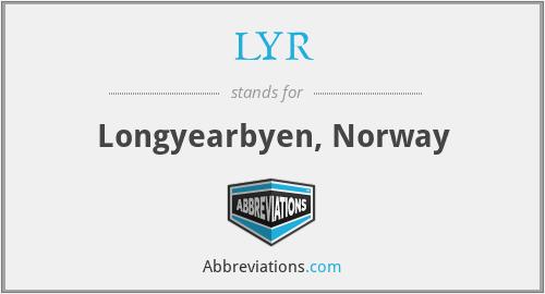 LYR - Longyearbyen, Norway