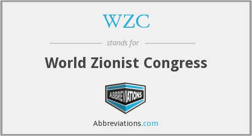 WZC - World Zionist Congress
